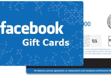 Facebook Gift Cards Online Uses – Facebook Game Card Redeem | How To Buy Facebook Games Item