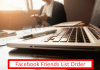 Facebook Friends List order Meaning