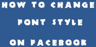 How to Change Font Style In Facebook