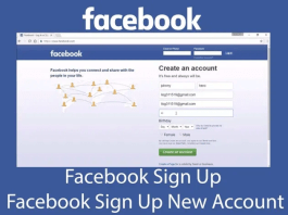 Facebook Sign Up New Account Free – Facebook.com Sign Up Free