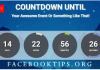 Countdown to Facebook