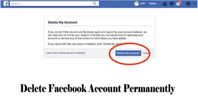 Delete Facebook Account Permanently – Deactivate Facebook Account