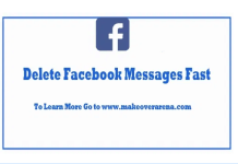 Delete Facebook Messages Fast – Facebook Fast Delete Messages Extension App