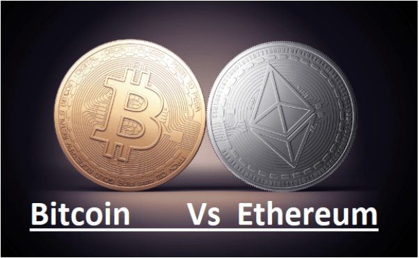 Bitcoin vs Ethereum – Difference Between Bitcoin and Ethereum