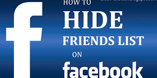 How to Hide Your Friends List in Facebook