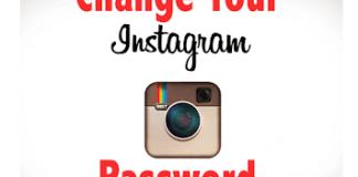 Change Instagram Password
