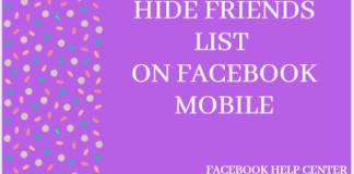 How To View Friends List On Facebook Hidden