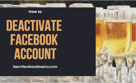 How to deactivate Facebook account | Disable Facebook account Temporarily | Deactivating Facebook New Account Right Now: Deactivating Facebook account is a very simple and quick thing to do - you can deactivate your Facebook profile account temporarily and decides to come back whenever you wish to. See: How to Deactivate Your Facebook Account - Simplest Way! How to deactivate Facebook account | Disable Facebook account Temporarily | Deactivating Facebook New Account Right Now How to deactivate Your Facebook account *Click the account menu at the top right of any Facebook page *Select Settings *Click Security in the left column *Choose Deactivate your account then follow the steps to confirm If you deactivate your account your profile won't be visible to other people on Facebook and people won't be able to search for you. Some information, such as messages you sent to friends, may still be visible to others. Or Visit: www.facebook.com/deactivate.php on your web browser (PC or Mobile) If you'd like to resume with your Facebook anytime after you've deactivated your FB account, you can reactivate your account simply by logging in with your email and password. Your complete profile will be restored in its entirety for example: friends, photos and interests. Remember that you'll need to have access to the login email address for your account to reactivate it. If you can't get into your account, you can reset your password. Smart Links: How To See My Blocked List On Facebook How do I poke someone on Facebook? How to close Facebook account temporarily and permanently How to Delete FB Permanently If you delete your Facebook permanently, you won't be able to reactivate or retrieve any of the data or information you had on Facebook. If you'd like to permanently delete your account with no option for recovery click here: How to Delete Facebook Permanently Did it work? Were you able to deactivate your Facebook account? If not, tell us what the problem is - in the comment box below.
