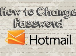 Change Hotmail Password - Hotmail Password Change: How to change Hotmail password