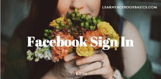 Facebook Login Sign - New Facebook Login