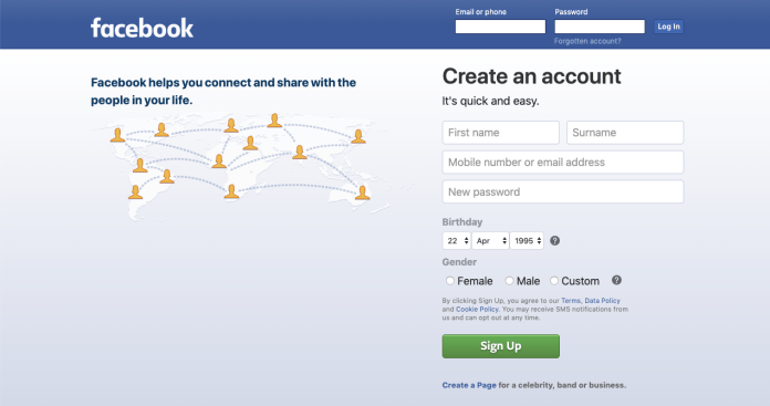 Facebook.com Login   Meet New People at www.facebook.com   Grow Your Business