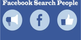 Facebook Search People – Search for Friends & Content | Using Facebook Search People to Search for Friends