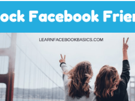 Learn how to block own facebook friends