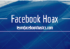 Facebook hoax - Following me...
