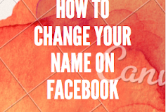 Change your name