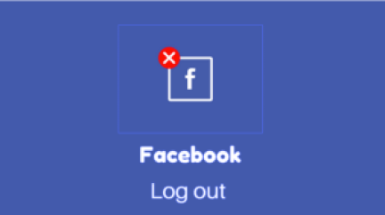 Facebook logout my account
