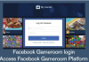 Facebook Gameroom login