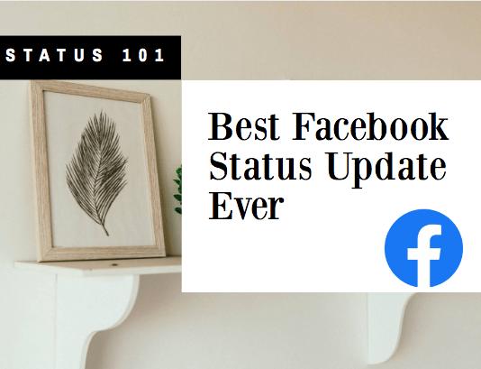 Best Facebook Status Update