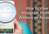 Browse Instagram Without An Account