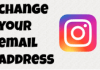 Change Email In Instagram