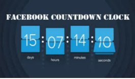 Facebook Countdown Clock