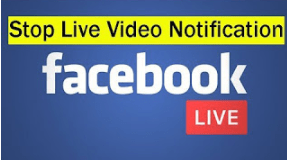 How to Stop Live Facebook Notification