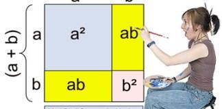 Binomial squares pattern