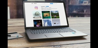 Post On Ig With A Desktop Or Laptop