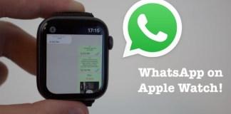 Apple Watch WhatsApp
