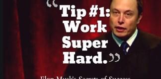 Elon Musk Success Tips
