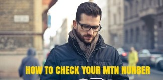 How to Check my MTN number using USSD Code