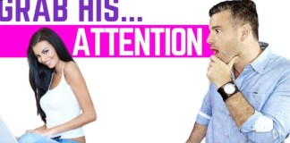 How to Get a Guy's Attention in Any Circumstance