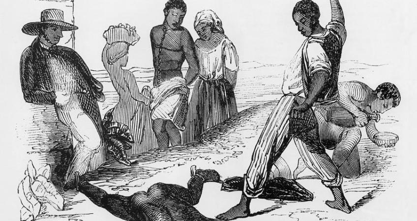 slave-punishment - African slave trade