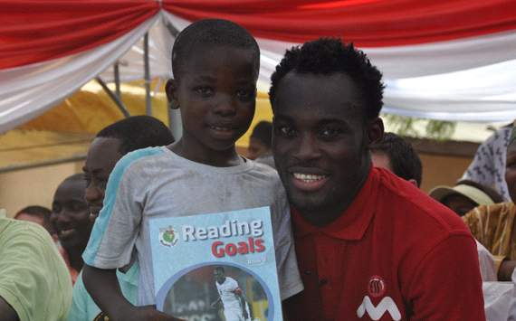 Image result for michael essien in ghana village
