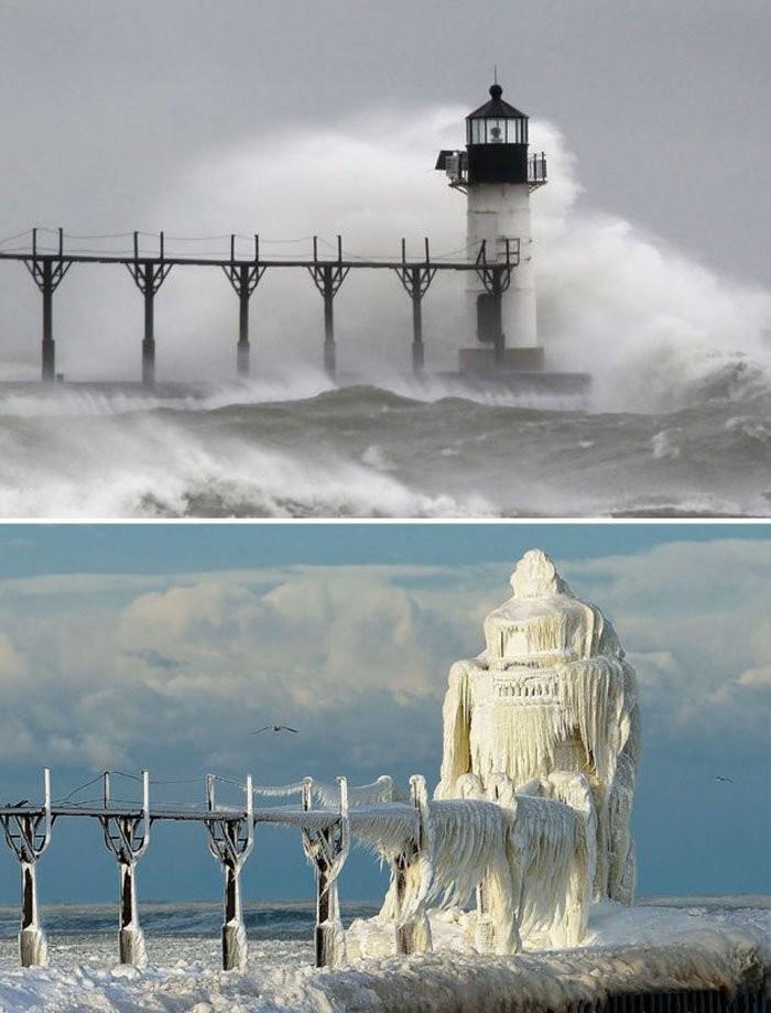 St Joseph Lighthouse, Michigan, ABD