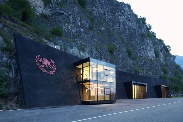 İtalya'da İtfaiye İstasyonu