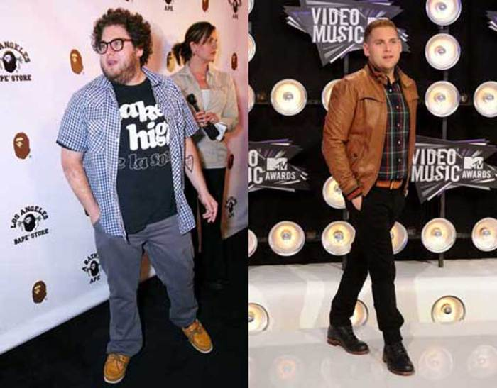 Jonah Hill lost 30 pounds to prepare for his role in 21 Jump Street
