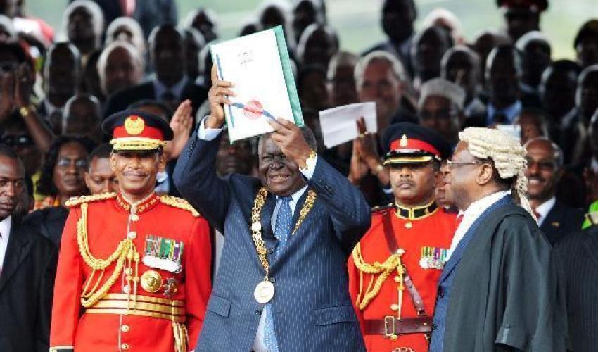 Kenya New Constitution - kenyan history