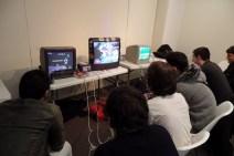Anciennes vidéos sur de vieilles télévisions grâce à l'association Re-play (Créditphoto : Elsa Hellelmans)