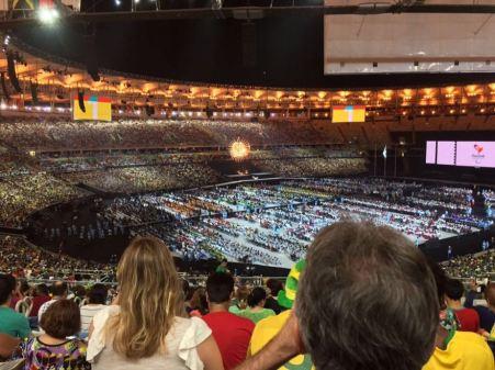 Cette année, les Jeux paralympiques de Rio ont été dans la tourmente, leur budget ayant été en partie pris par les Jeux Olympiques. Finalement, ils ont bien eu lieu entre le 7 et 18 septembre. La France a fini douzième au classement. Ici la cérémonie de clôture. (Crédit : Twitter @mahomsi)