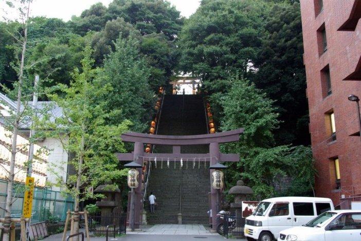 港区の愛宕神社