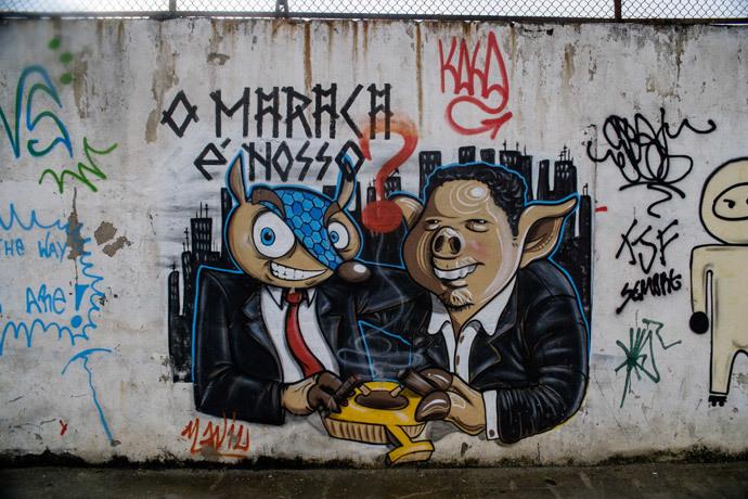 ブラジルワールドカップに反対するストリートアート (11)