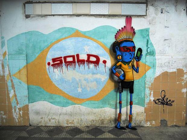 ブラジルワールドカップに反対するストリートアート (17)