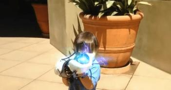 CG職人の父が3歳児の日常をド派手にする動画3本