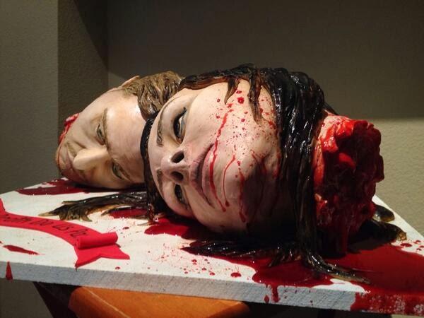 ケーキ史上一番怖いケーキ