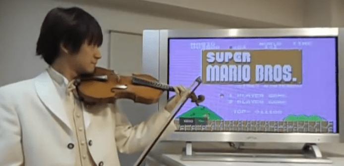 バイオリンでマリオ