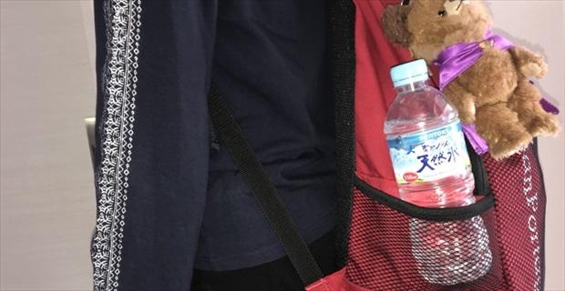 画像 『リュックにペットボトルをさすのが怖くなった』ある女性を襲った、背筋も凍る出来事