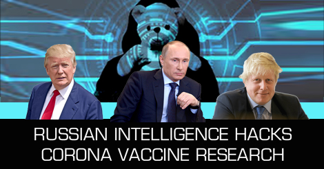 corona vaccine putin trump hack apt29 cozybear covid19 research