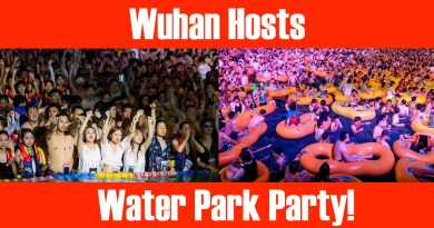 wuhan water park party