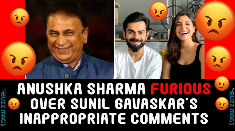 Anushka Sharma replies to Sunil Gavaskar's inappropriate comments
